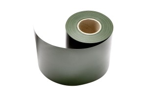 Sichtschutz für Doppelstabmattenzaun Moosgrün