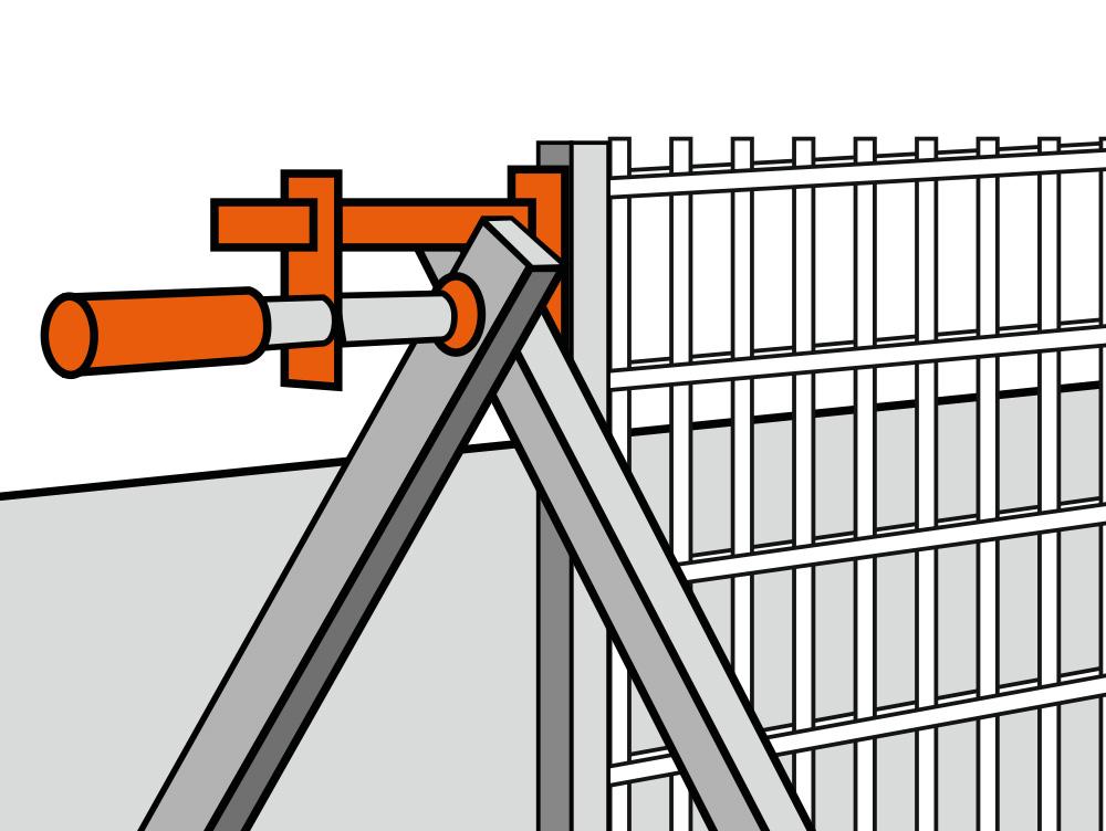 zaunpfosten anleitung latest hngematte pfosten bauen anleitung fundament fr zaunpfosten. Black Bedroom Furniture Sets. Home Design Ideas